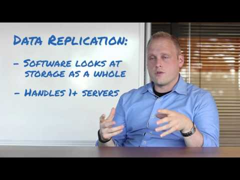 What is the Difference between Data Backup and Data Replication?