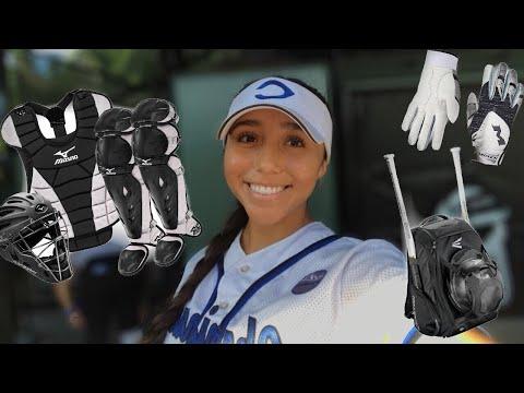HUGE College Softball Gear Haul! | Ronni Rae