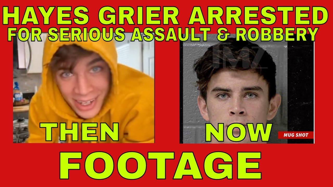 Vine star Hayes Grier charged with assault