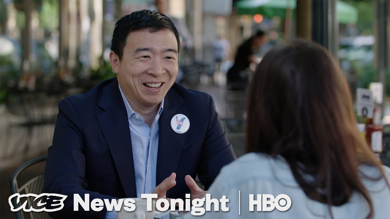 Andrew Yang Wants To Give You $1,000 A Month