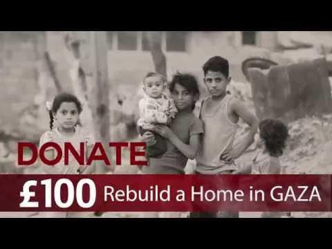Rebuild Gaza campaign - Ramadhan 2015