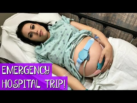 MELISSA GOES TO THE HOSPITAL | EMERGENCY LABOR AND DELIVERY SCARE!