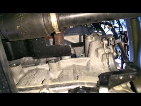 2015 Honda Fit EX: Block Heater Plug Location