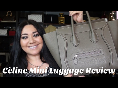 Celine Mini Luggage Review + Mod Shots