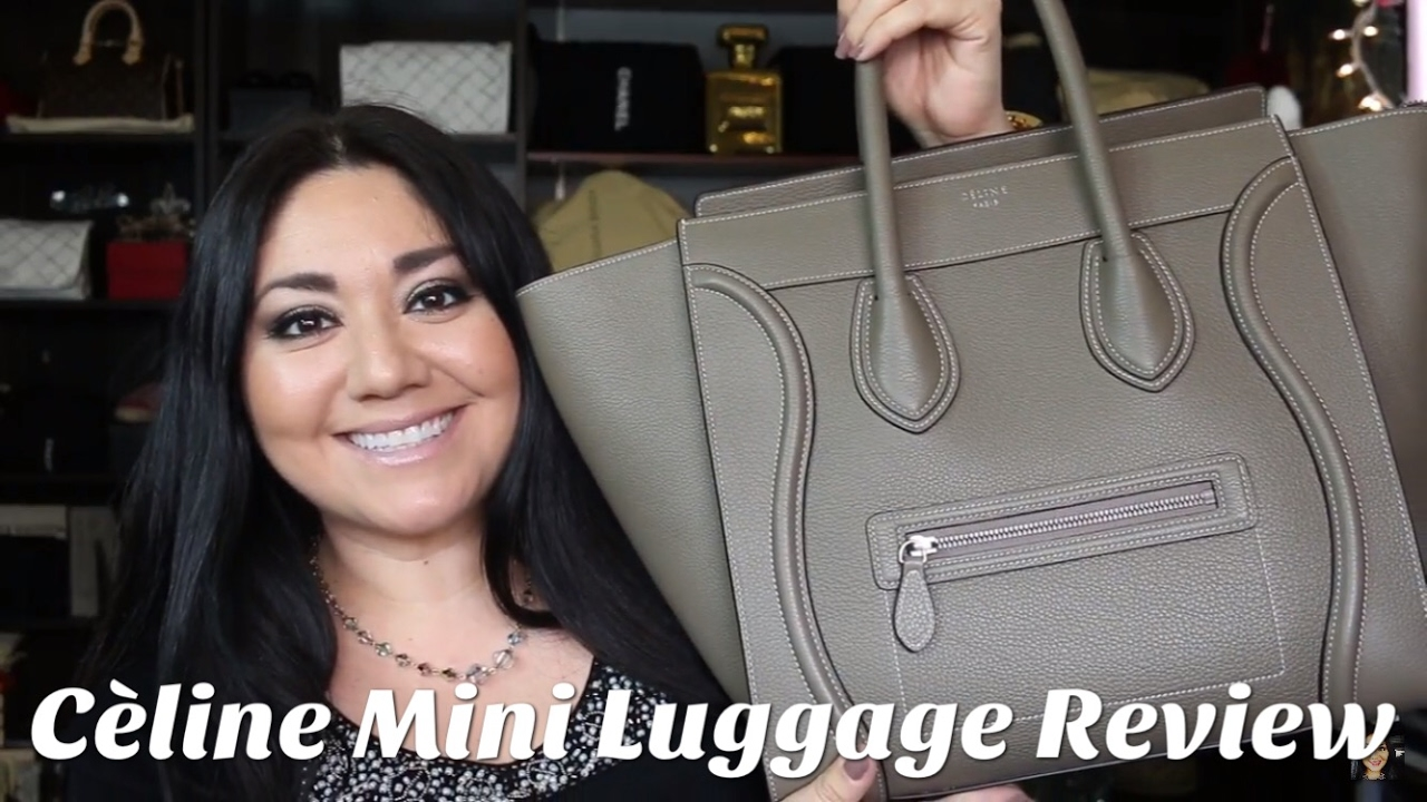 Celine Mini Luggage Review + Mod Shots - YouTube e72b05caecd91