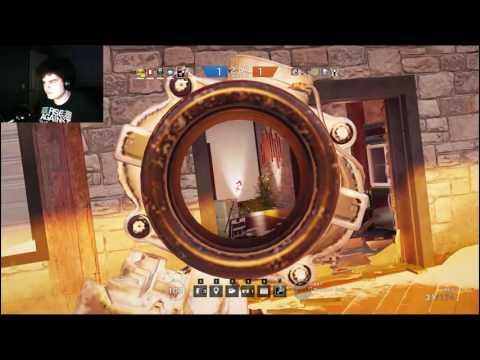Intense Ranked Match - Rainbow Six Siege Stream Highlight