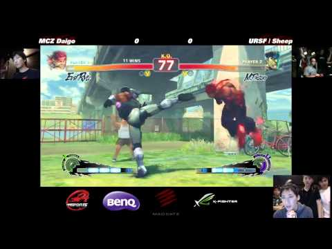 Daigo (Evil Ryu) vs URSF | Sheep (M Bison)