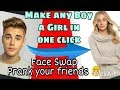 Face Swap app Change any boy face to a girl 😂 || Prank your friends | Best photo editor