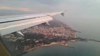 Посадка в Анталии 09.05.2013 А-320