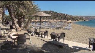 Kreta,  Vai Bay - plaża palmowa(Grecja, wyspa Kreta, Vai Bay - plaża palmowa, 08.09.2013 | Greece, island Crete, Vai Bay - Palm Beach |, 2013-09-18T08:23:33.000Z)