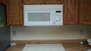 How to Install a Microwave over the stove