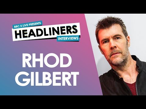 Rhod Gilbert talks about his shyness