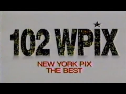 WPIX-FM 102 & WPIX-TV New York - TV Promos  - 1986