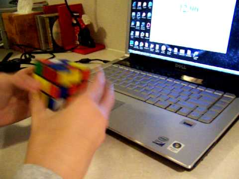 James Creswell - Rubik's Cube - 27 second solve