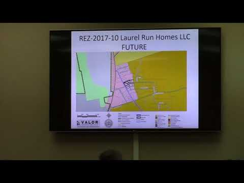 5. REZ-2017-10 - Laurel Run Homes, LLC
