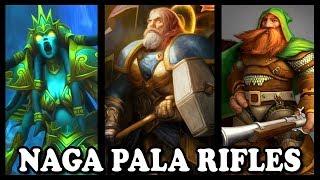 "Grubby | ""Naga Pala Rifles"" | Warcraft 3 | HU vs HU | Concealed Hill"