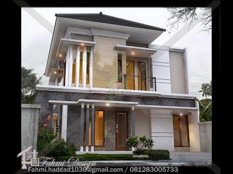 rumah minimalis 2 lantai diatas lahan 11x18m dengan luas