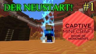 Der Neustart! | Captive Minecraft II # 1