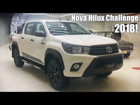 Toyota Hilux SR Challenge 2018 2.8 4x4 Diesel - Falando de Carro