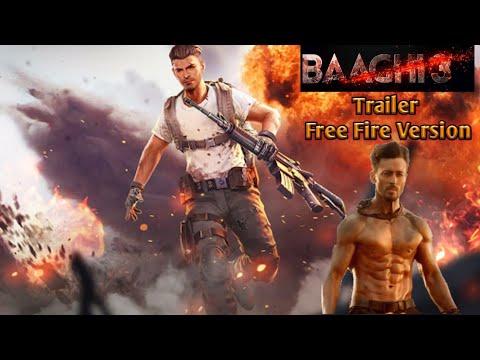 Baaghi 3 Official Trailer || Garena Free Fire Version