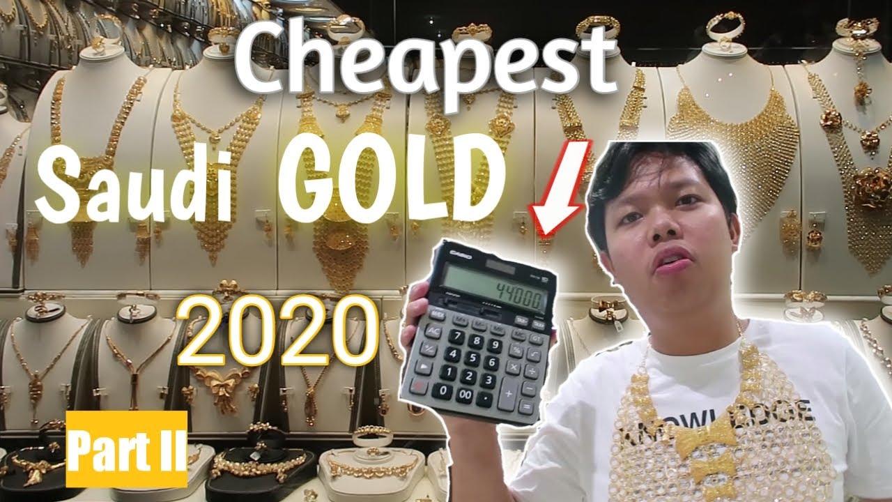 Saudi Gold Latest Price 2020 Before Covid 19 Youtube