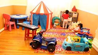 PLAYROOM REVEAL| KIDS PLAYGROUND INDOOR| KIDS' PLAYROOM TOUR| BukolaRY_TV