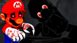 THE SCARIEST MARIO.EXE GAME COMES TO AN INSANE END! (SUPER MARIO DOLOR - ENDING)