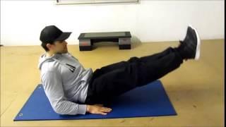Perdre du ventre rapidement  et avoir des supers abdos visibles avec 4 exercices by maitrekal