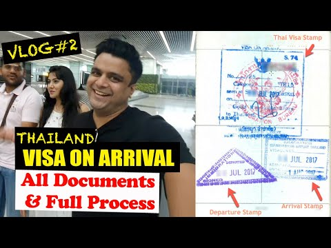How To Get A VISA ON ARRIVAL For Thailand? | Suvarnabhumi Airport V/S Dubai Airport | Thailand #2