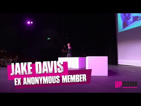 Ex-Anonymous and LulzSec Hacker Jake Davis at ART31's UPrising