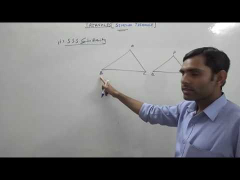 Similarity of Triangles (Hindi) | NCERT 10th Class Maths