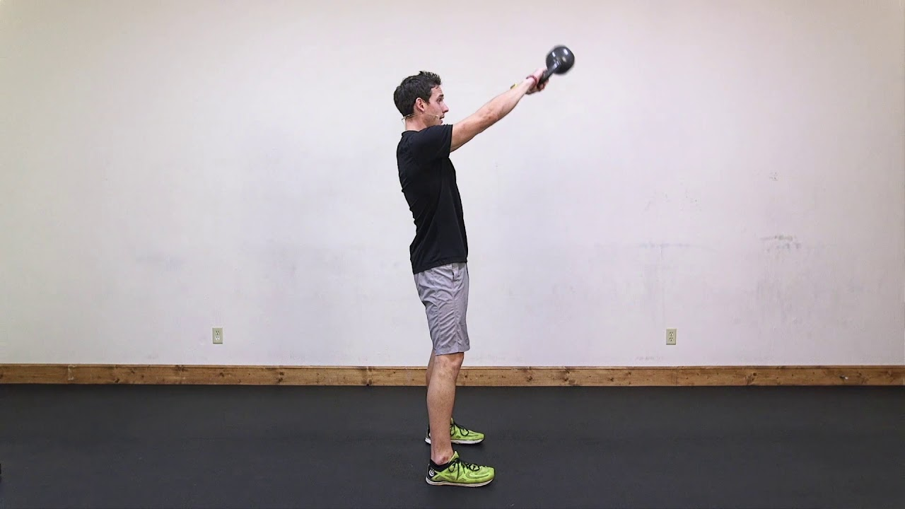 Lean: Lunges, Kettlebell Swings & Cardio