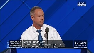 Martin OMalley FULL REMARKS at Democratic National Convention (C-SPAN)