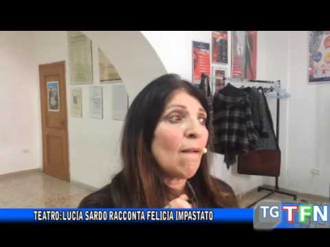 Teatro Lucia Sardo Racconta Felicia Impastato Youtube