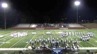 10 01 2016 chapin high school pride of the midlands marching band river bluff swamp classic