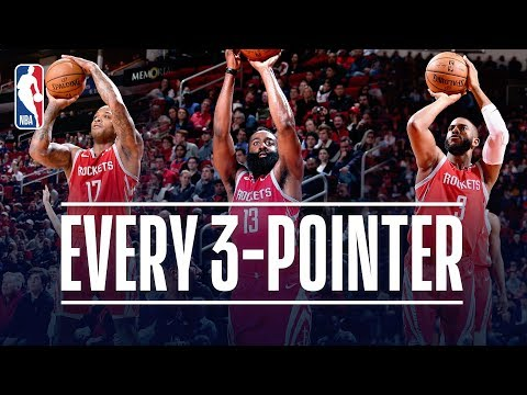 Rockets Set a NEW NBA Record With 26 Three-Pointers Made! | December 19, 2018 thumbnail