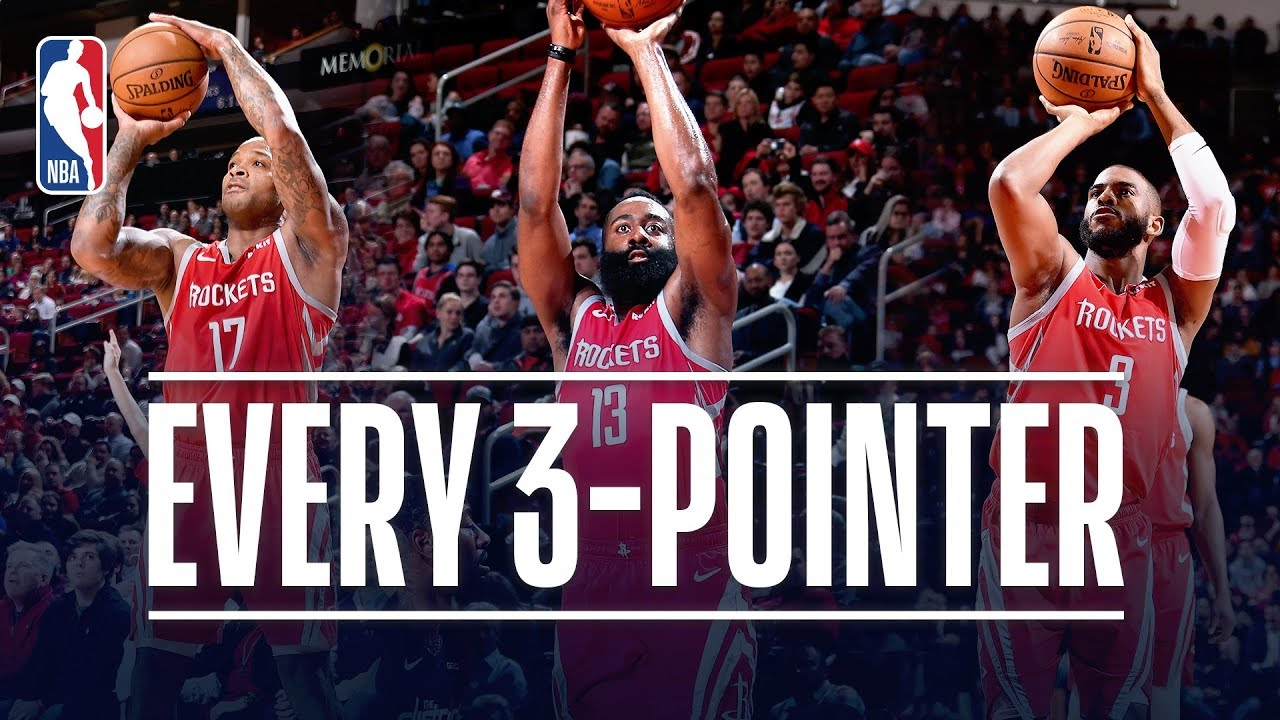 Rockets break their own single-game record for 3s in rout of Suns