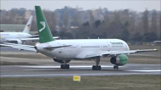 Planes at Birmingham Airport - 6th February 2015