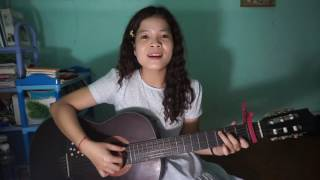 Can't help falling in love with you guitar cover by Huong Nguyen