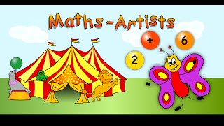 Maths Artists (Amazing App for iOS and Android)