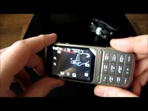 Nokia C3-01 Обзор Khaki Gold