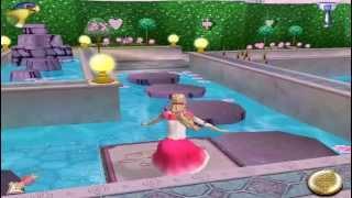 Водопады  Принцессы Лейси  Игра Барби / Barbie 12 Танцующих принцес