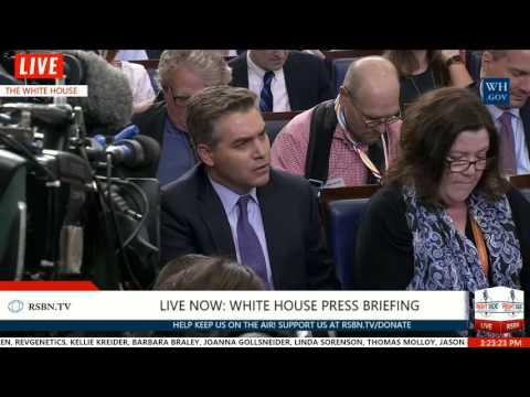 Miller Time: Stephen Miller and CNN's Jim Acosta EPIC BATTLE Over Immigration 8/2/17