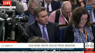 Miller Time: Stephen Miller and CNN's Jim Acosta EPIC BATTLE Over Immigration 8/2/17