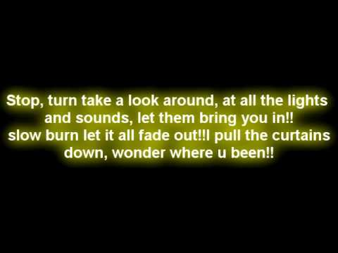 Yellowcard-Lights and sounds lyrics
