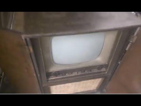1957 Saba Schauinsland T604 valve TV restoration repair part1