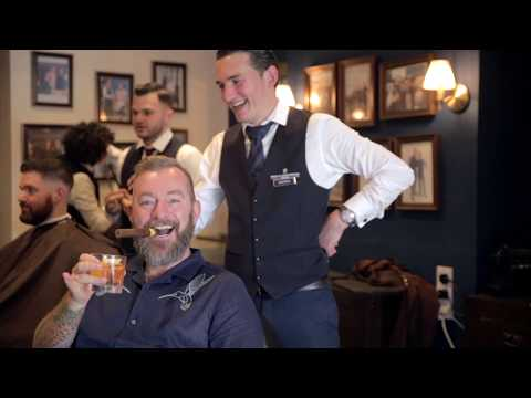 Men's Grooming Ireland Barber Shop: Irish Whiskey tasting event