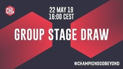 Champions Hockey League Draw 2019/20 CHL Group Stage!