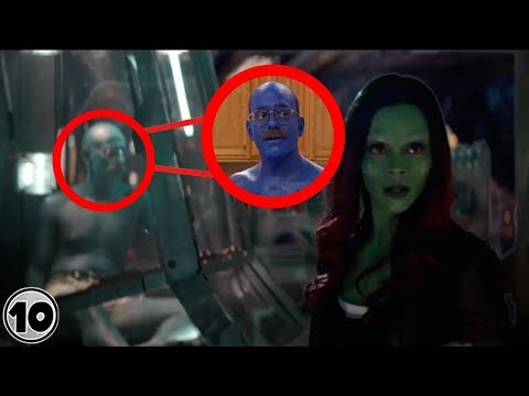 Top 10 Easter Eggs You Missed In The Avengers Infinity War - Part 2