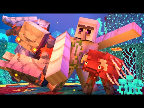 Villager Vs Pillager Part 15 [Iron Golem Life 2] Minecraft Animation |